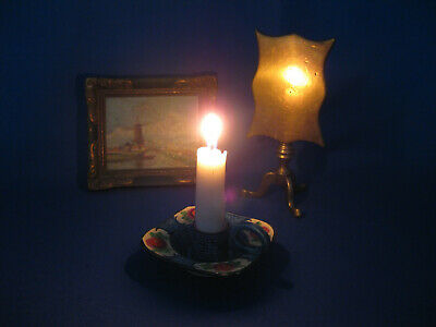 Antique 18th-19th Century Solid Brass Candle Refletor.