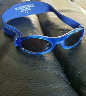 Baby Banz Blue Sunglasses 0-2 Years