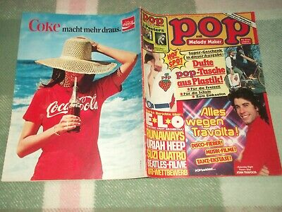 Pop 13/14-1978 – Poster Manfred Mann's Earthband - Reportage E L O