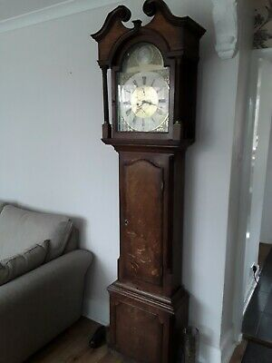 Antique Grandfather Clock  by Smith alfreton 1810  case repair