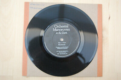 """Orchestral Manoeuvres The Dark -Electricity 7"""" Vintage Vinyl Single 1980 Factory"""