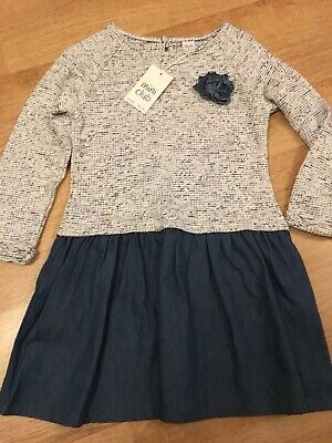 Girls Dress Mini Club Age 5-6 BNWT