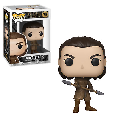 Funko! Pop Vinyl Figurine Arya Stark with Two-Headed Spear #79 - Game of Thrones