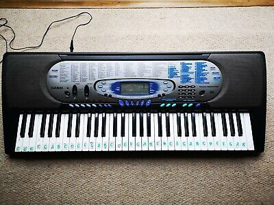 Casio CT-571 ELECTRONIC Keyboard MIDI FULL SIZE KEYS Synth Free 24hr Postage