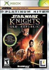 Star Wars: Knights of the Old Republic Platinum Hits (Microsoft Xbox) Disc Only