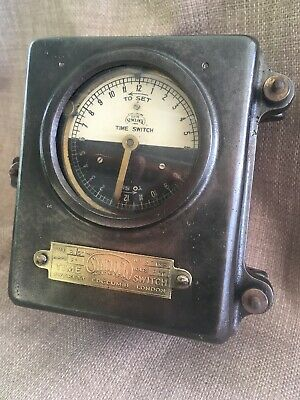 VINTAGE Synclock Time Switch Everett Edgcunbe London