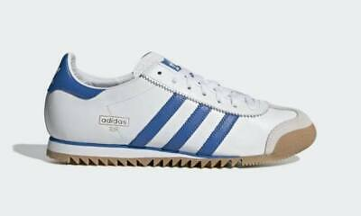 Adidas originals rom white royal gum 7-10,5 retro training terrace shoe B GRADE