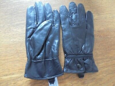 SOFT LEATHER NEW MOONBECK Ladies Leather Driving Gloves Size L 7.5