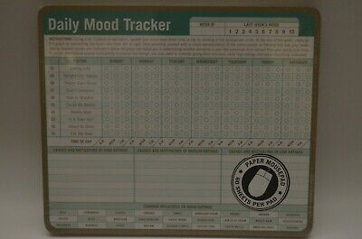 NEW Daily Mood Tracker Paper Mousepad (60 Sheets) By Knock Knock