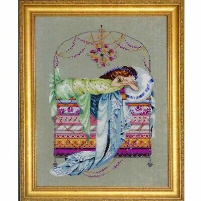 Sleeping Princess cross stitch chart