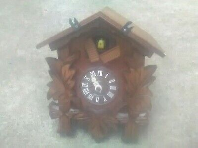 *German Made* Musical Cuckoo Clock Quartz Movement Musik Engstler CLOCK BODY