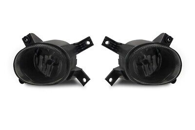 For Audi A4 8E B7 + Cabriolet Fog Light Black Smoke H11 Left+Right