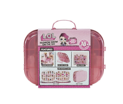 L.O.L. Surprise! Fashion Show On-the-Go Storage and Playset Light Pink Girls Toy