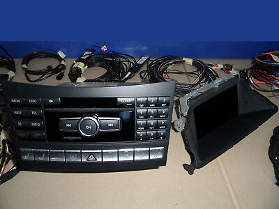 Mercedes CLS W218 W212 NTG4 Comand Navigation Display Navigationsgerät TV Tuner