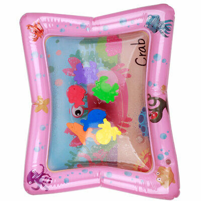 Inflatable Fun Water Filled Play Mat for Kids Baby Children Infants Tummy Time