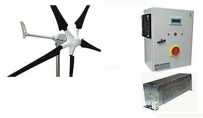 Set i-2000 48V Windgenerator + Hybrid Laderegler Ista-Breeze