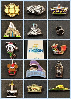 Disney Collector Pin Tiny Kingdom Disneyland Attractions You Choose from 14 Pins