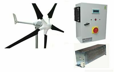 Set i-1500W 48V Windgenerator + Hybrid Laderegler Ista-Breeze