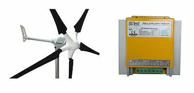 Set i-1000W 48V Windgenerator + Hybrid Laderegler Ista-Breeze