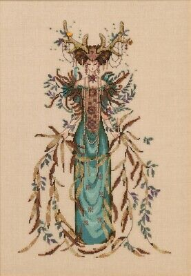 Cathedral Wood Goddess cross stitch chart