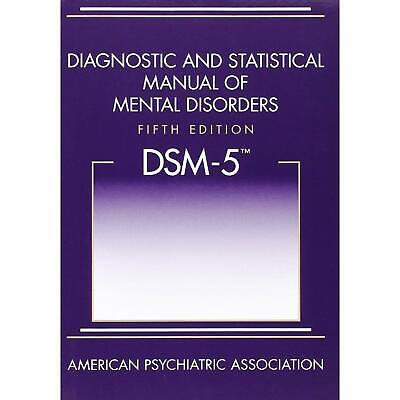 Diagnostic and Statistical Manual of Mental Disorders 5th Ed DSM 5 Hardcover