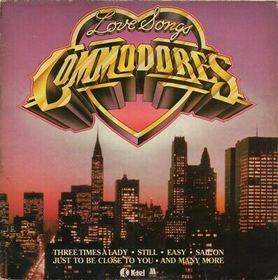 Commodores - Love Songs (LP, Comp)