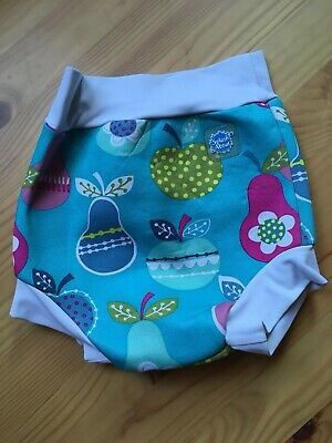 Baby Girls Splash About Apples And Pears Swim Happy Nappy Size Large 6-12 Months