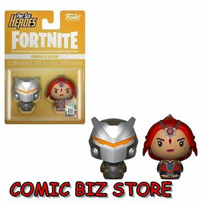 ***Mega Sale** Pint Size Heroes Fortnite Omega/ Valor Figure