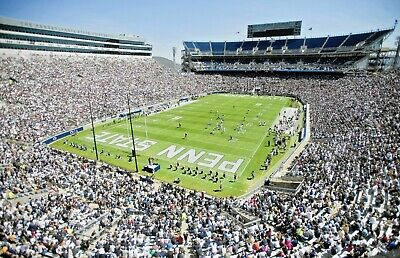 4 Penn State Nittany Lions vs Rutgers Knights Football tickets-under cover 11/30