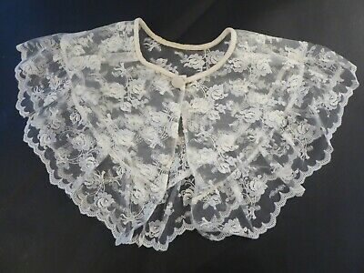 Antique Lace Dress Collar Costume Steampunk