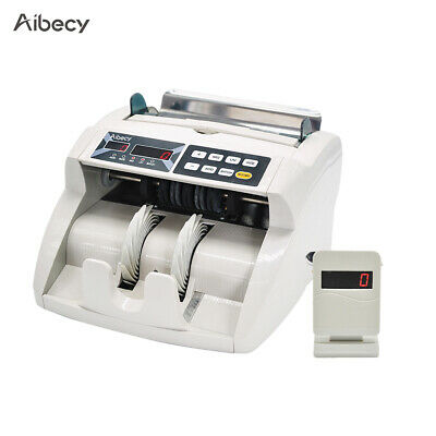Money Bill Currency Counter Counting Device Cash Counterfeit Detector UV MG D0T2