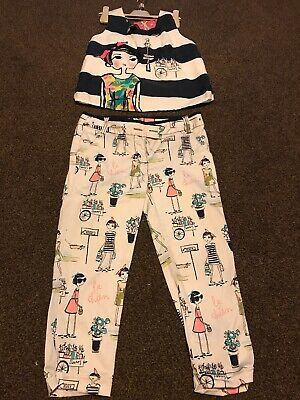 Next Girls 2 Piece Outfit Age 9 Adjustable Waist