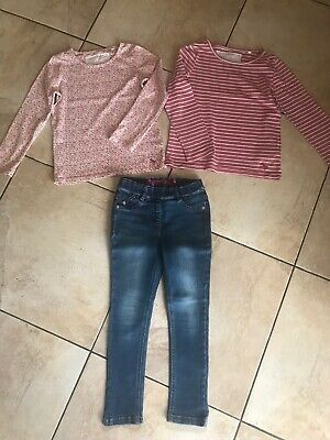 Next Girls Skinny Jeans & Tops Bundle Age 5 Years Vgc