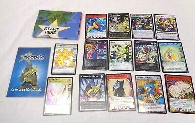 Large Lot of 350 Neopets Trading Cards - Holos and Commons + Play Mat