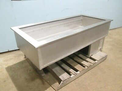 """Apw Wyott Cw-4"" Hd Commercial Ss Refrigerated 4 Pans ""Drop-In"" Cold Well Insert"