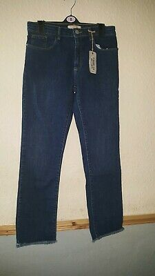 Girls Blue Straight Leg Ankle Length Jeans Size 15 Yrs By Next  Bnwt