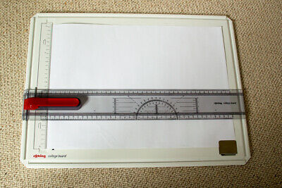 Rotring College Board A3 With Removable Ruler & Case - Drawing Board