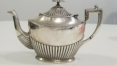 Sterling Silver Teapot  1880'S