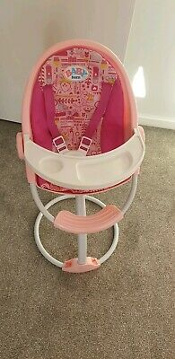 Baby Born doll high Chair