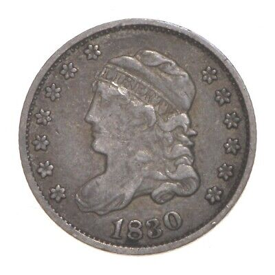 1830 Capped Bust Half Dime *4594