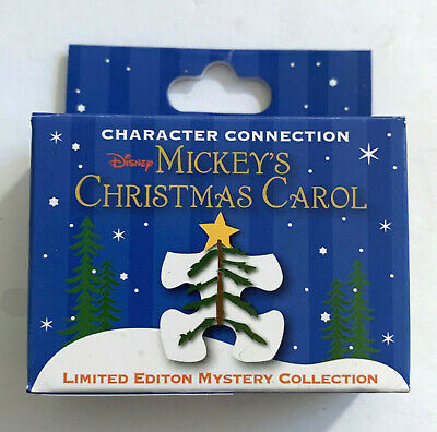 Disney Collector Pin Mickey's Christmas Carol Mystery Puzzle LE 900 You Choose