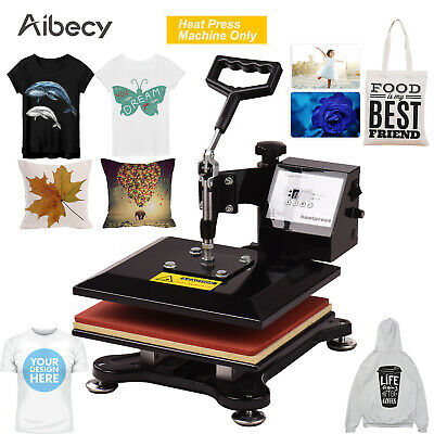 "Aibecy 10x12"" Swing Away Combo Digital Heat Press Thermal Transfer Machine T3F2"