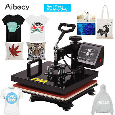 "Aibecy 15x15"" Swing Away Combo Digital Heat Press Thermal Transfer Machine C2L9"