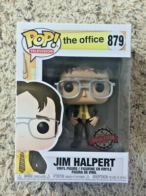 Funko Pop! The Office Jim Halpert As Dwight Schrute Special Edition