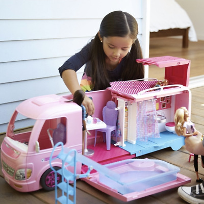 Barbie DreamCamper Doll Toy Set Car - Dolls Toys Girls Christmas Playset Gift