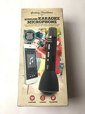 Grilling Traditions Wireless Karaoke Microphone