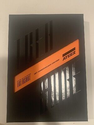 ATEEZ Treasure 1st Anniversary Edition Album+Poster (EVERYTHING ex. Member PC)