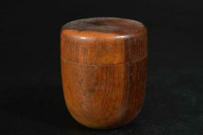 A1263: Japanese Wooden TEA CADDY Natsume Chaire Container Tea Ceremony