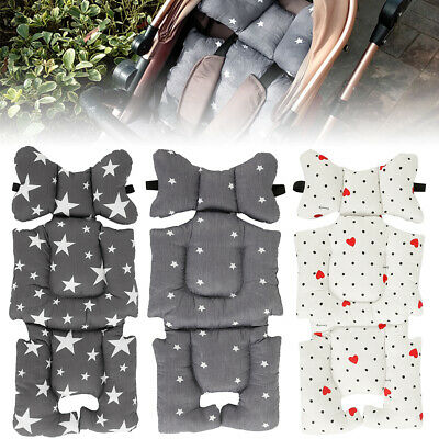 Liner Cotton Kids Stroller Pram Pushchair Soft Cushion Car Seat Pad Mat HOP