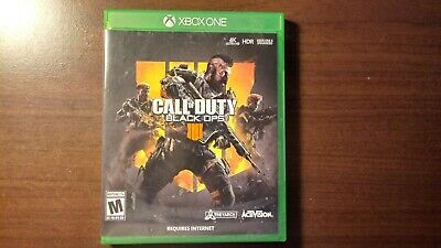 Call of Duty: Black Ops 4 IV (Xbox One, 2018)